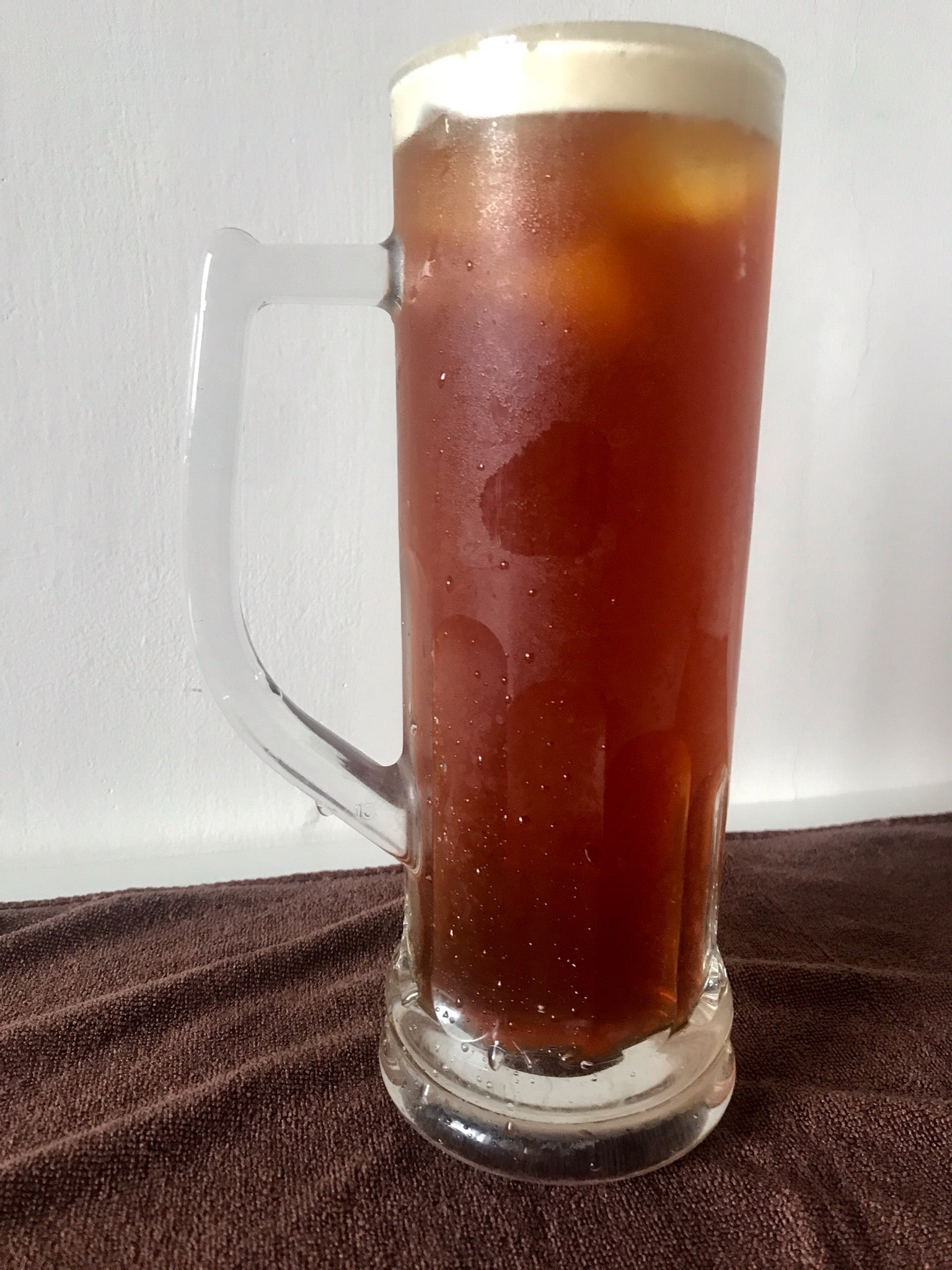 iced tea: honey red jade black tea