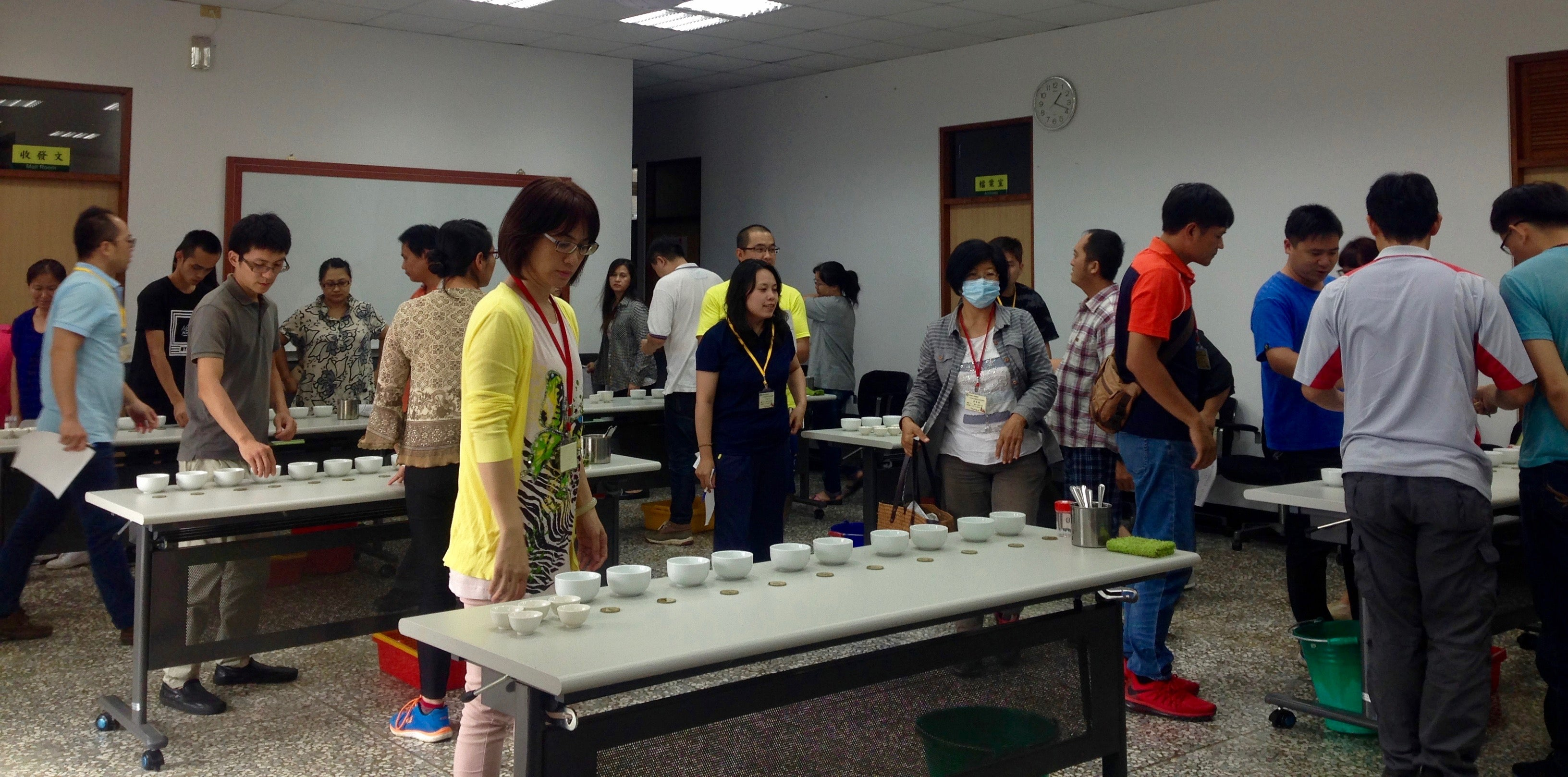 Taiwan Tea Judge Training