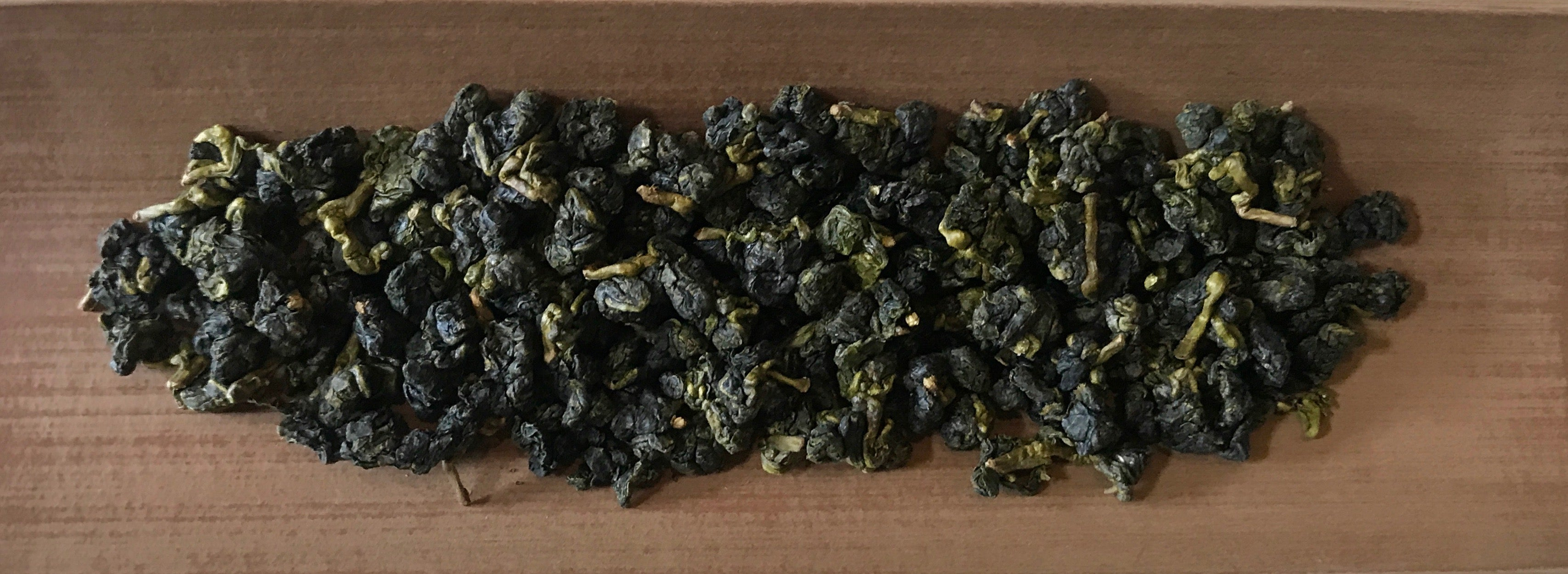 Eco-Cha Tea Club Light Roast Phoenix Village Oolong -  tea leaves