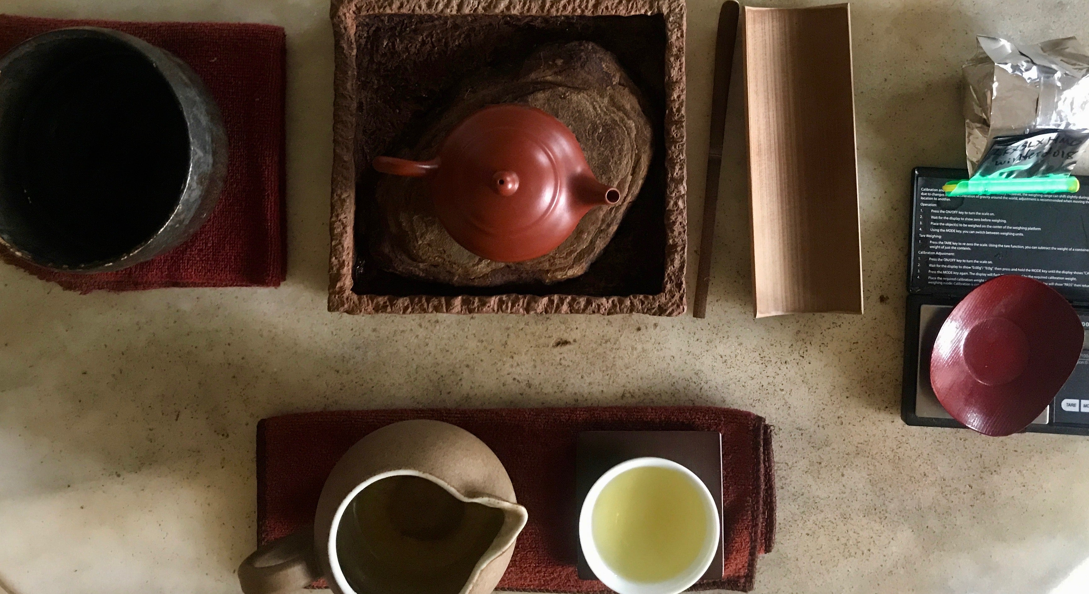 Long Feng Xia High Mountain Oolong Gongfu brewing