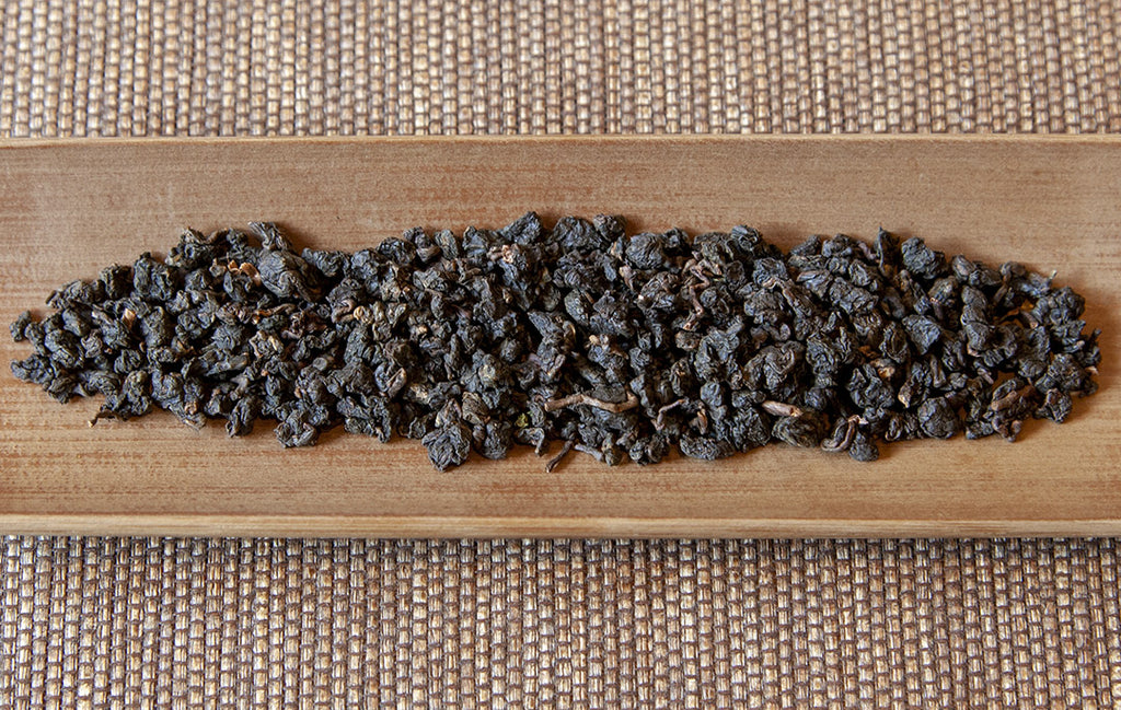 Roasted Tsui Yu Oolong Tea leaves