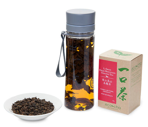 Eco-Cha cold brew tea bottle