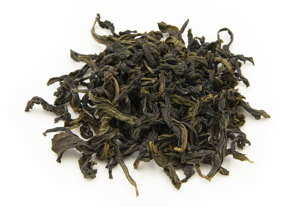 Wenshan Baozhong dry tea leaves