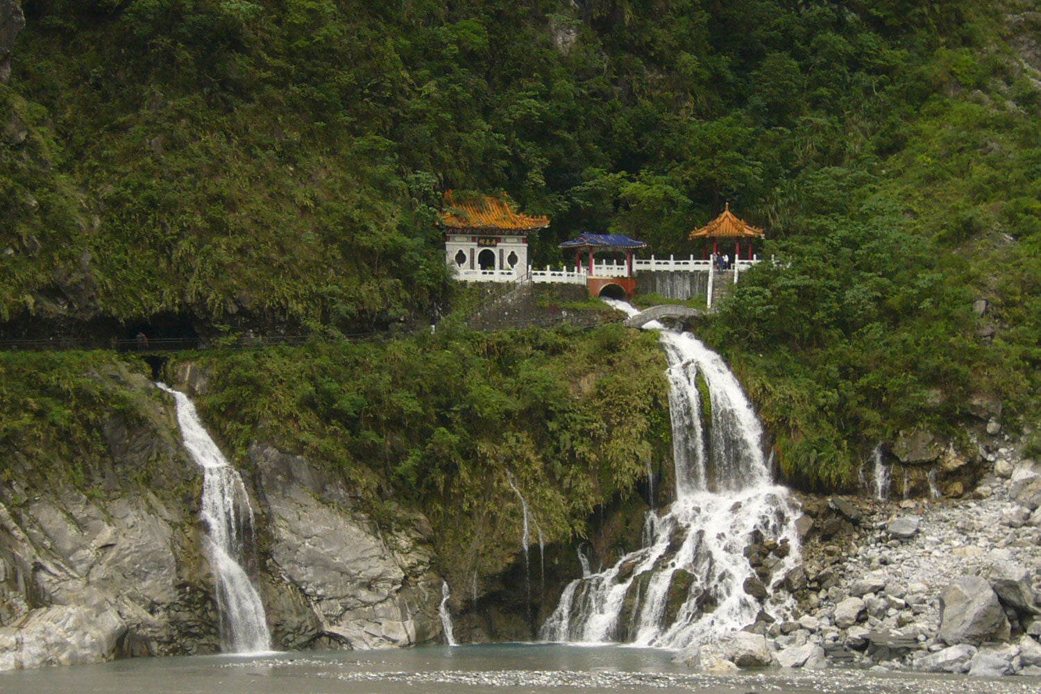 Eternal Spring Shrine Waterfall