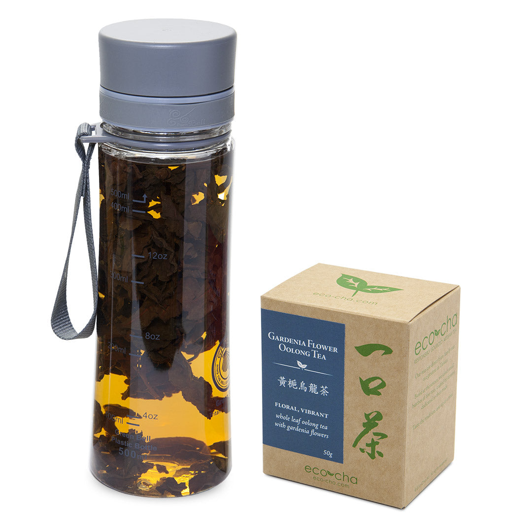 Cold Brew Bottle + Gardenia Flower Oolong