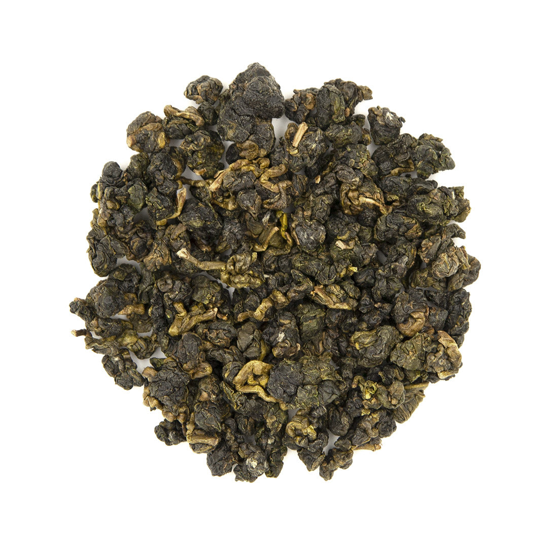 Eco-Cha Alishan High Mountain Oolong Tea, dry leaves