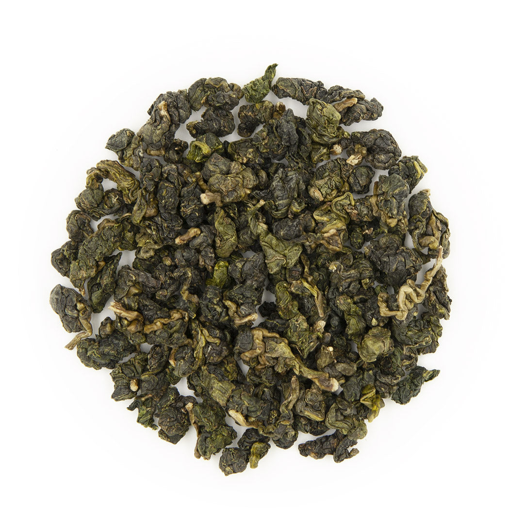 Da Yu Ling High Mountain Oolong Tea, dry leaves