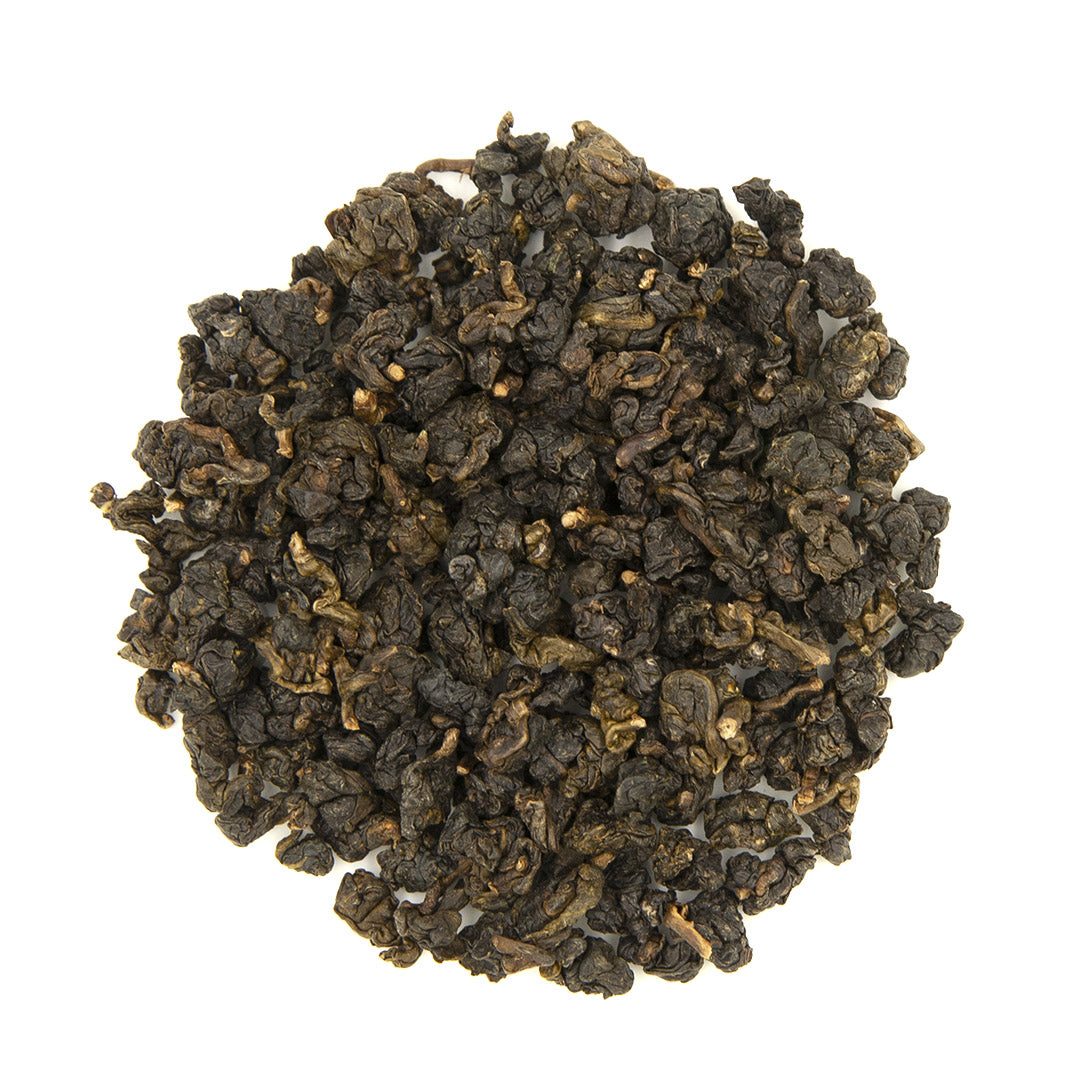 Dong Ding Oolong Tea, dry leaves