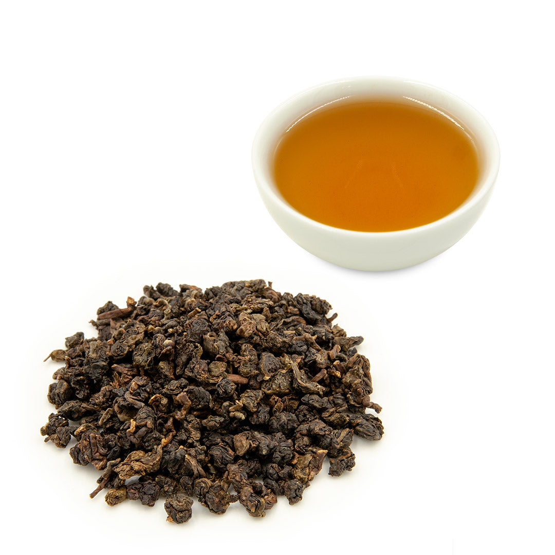 Eco-Farmed Heavy Roast Oolong Tea