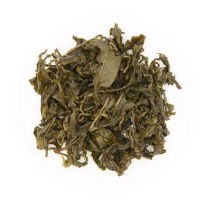 High Mountain Concubine Oolong Tea, wet leaves