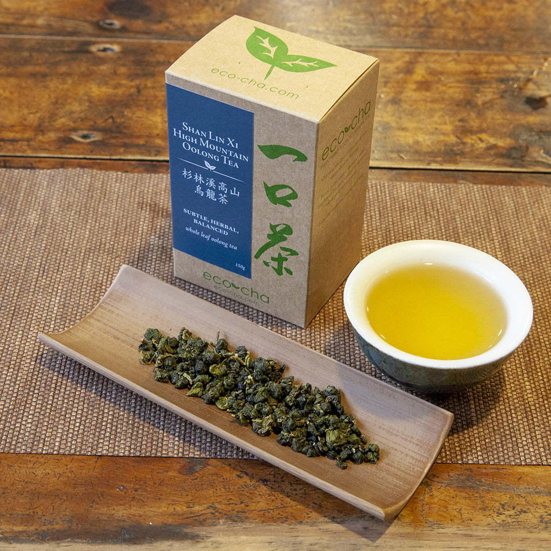 Shan Lin Xi High Mountain Oolong Tea