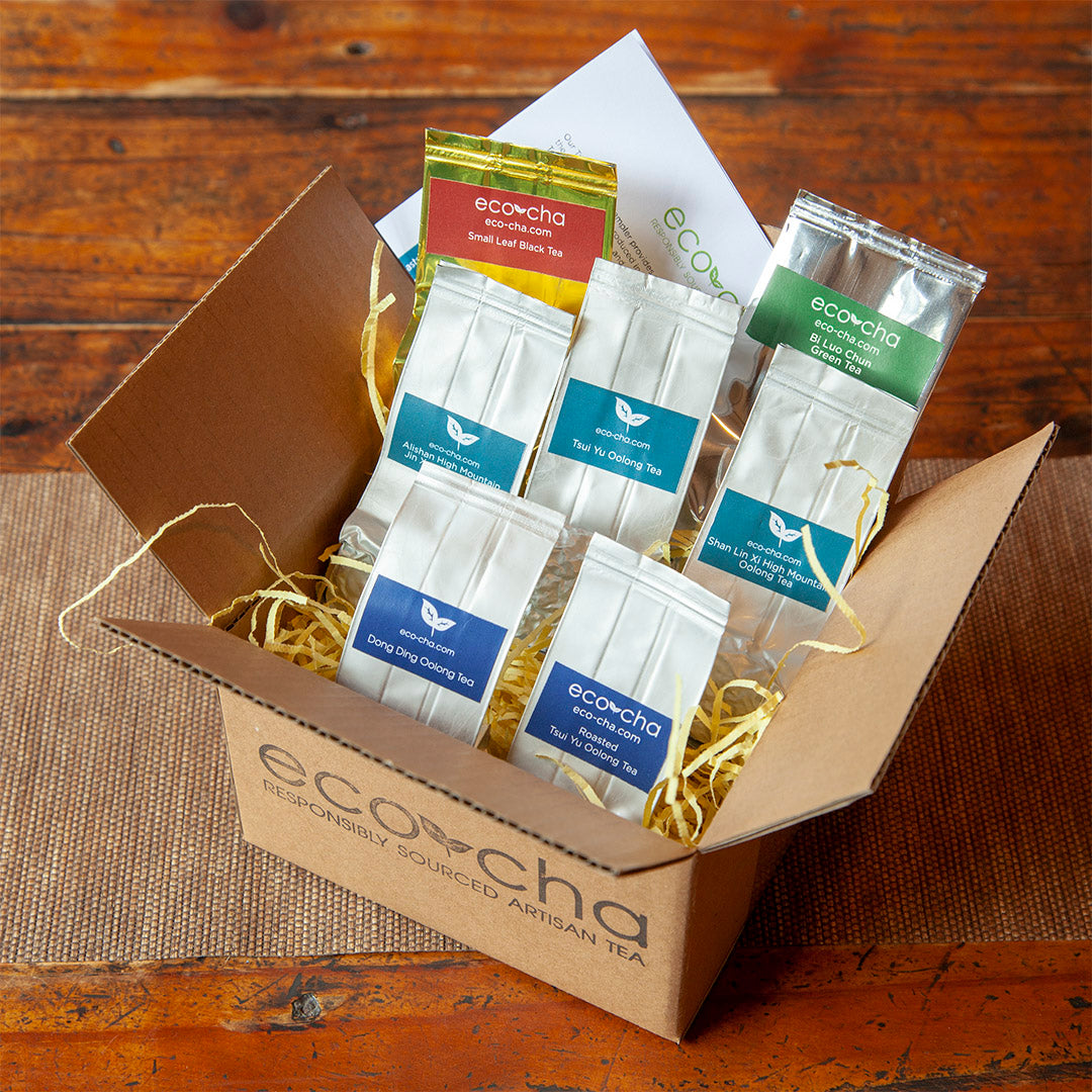 Taiwanese Tea Sampler from Eco-Cha Teas