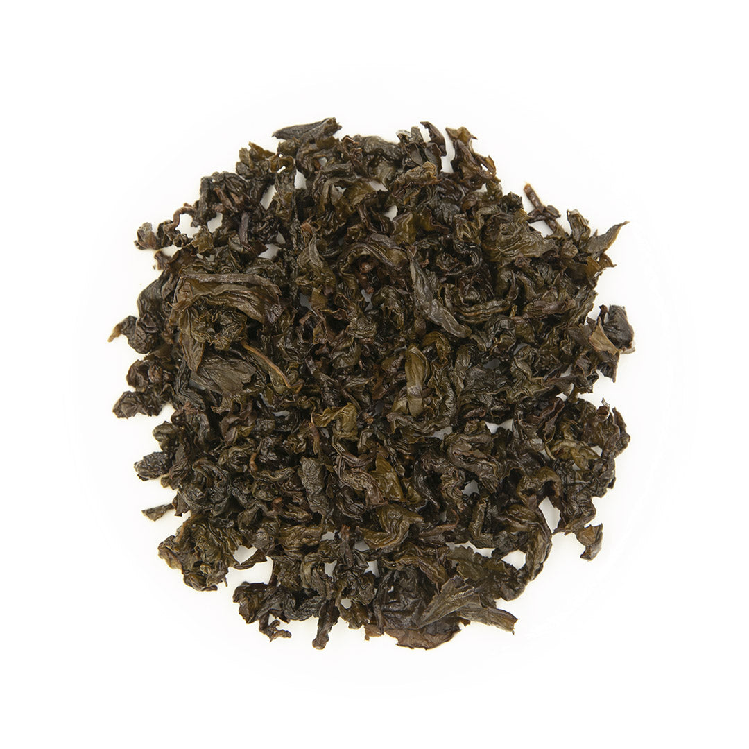 Tie Guan Yin Oolong Tea, wet leaves