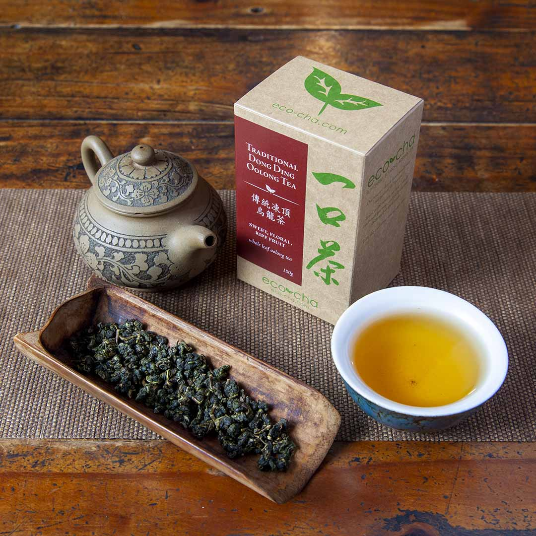 Traditional Dong Ding Oolong Tea