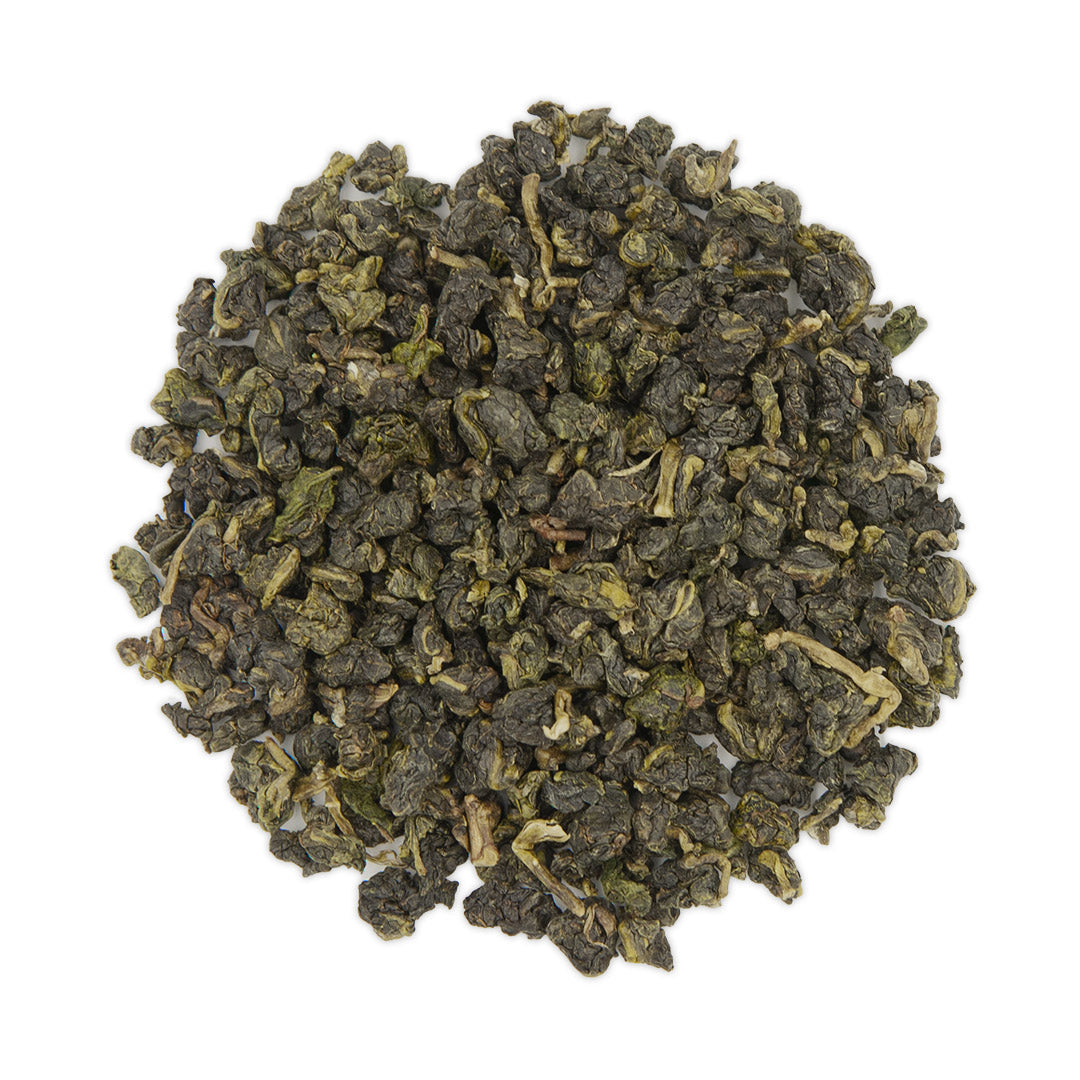 Tsui Yu Oolong Tea, dry leaves top view