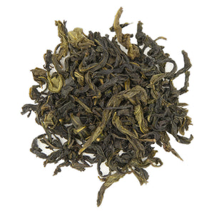 Wenshan Baozhong Tea, dry leaves top view