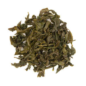 Wenshan Baozhong Tea, wet leaves