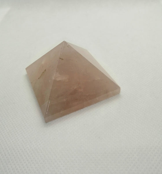 SALE: Rose Quartz Pyramid
