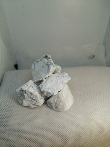 Rough South African White Howlite