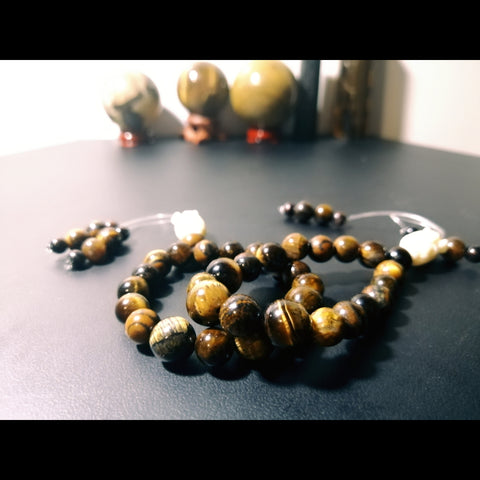 Tiger's Eye Mood Worry Beads