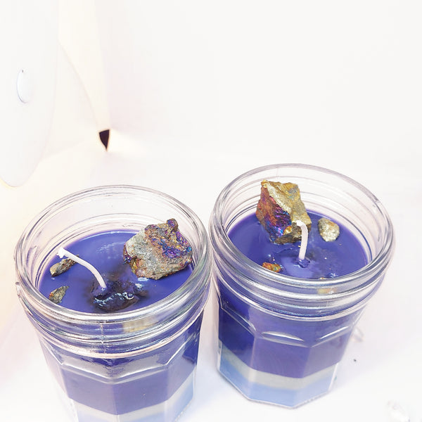 NEW!! Chalcopyrite Delight Candle
