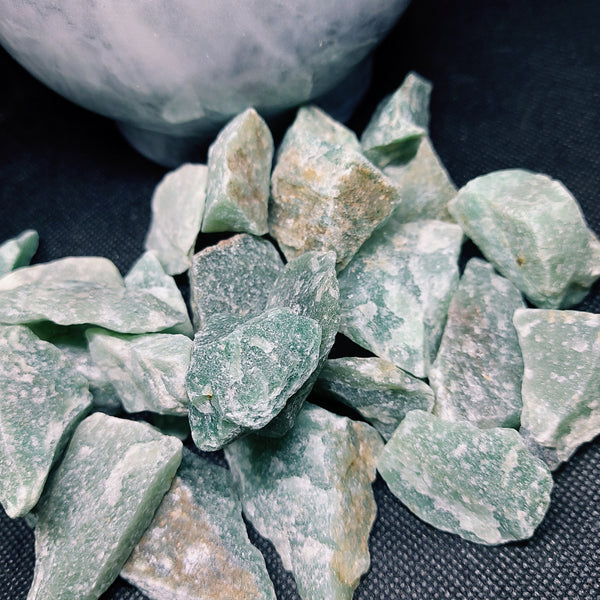 Rough Green Aventurine