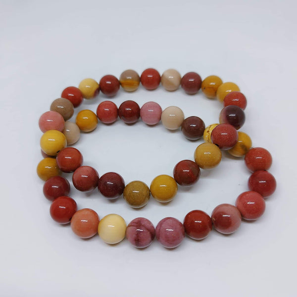 NEW!! Mookaite Beaded Stretch Bracelet