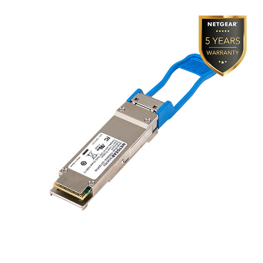 NETGEAR ACM762 QSFP28 Transceiver 100GBASE-LR4 Single Mode LC Duplex Connector (Warranty 5 Years)