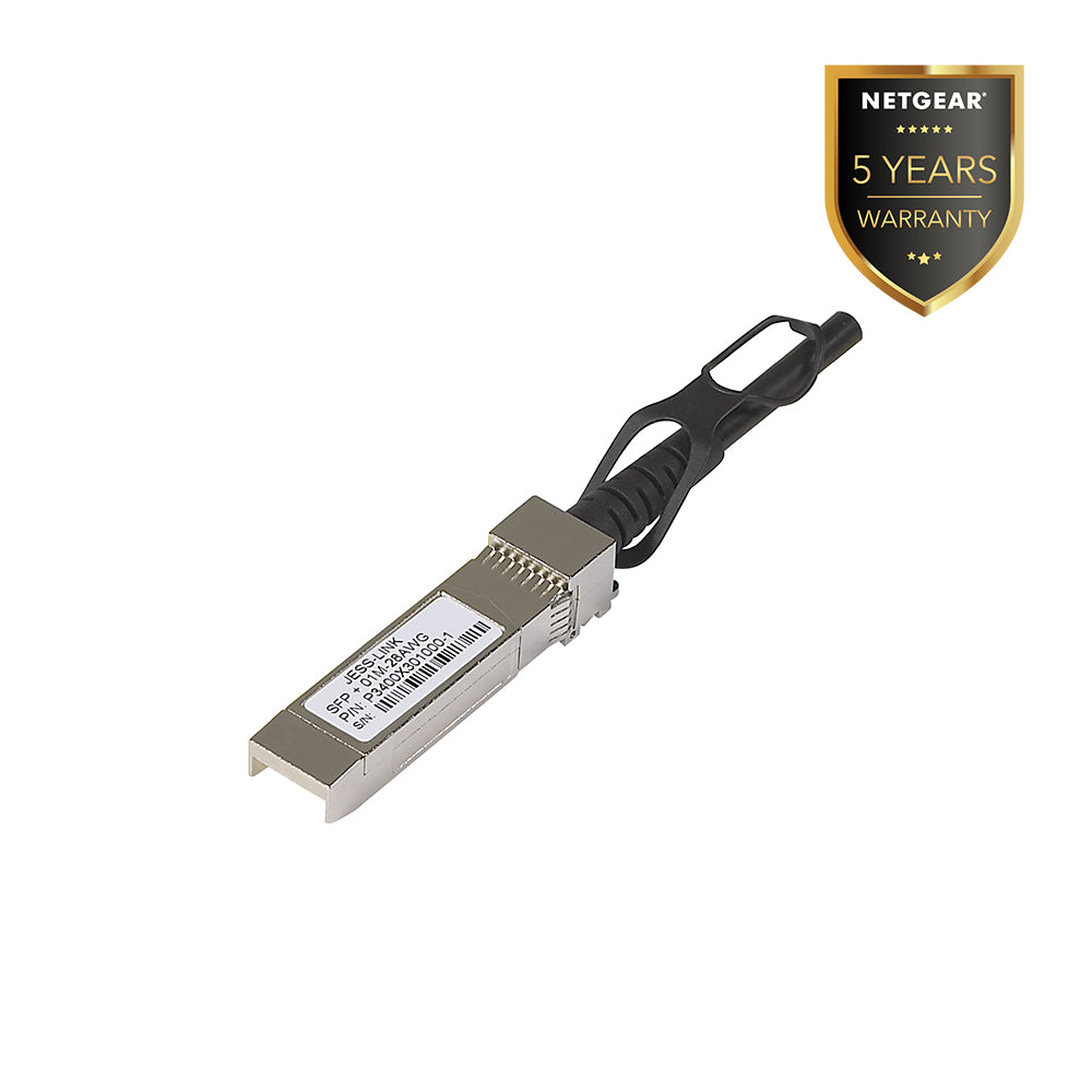 Netgear AXC761 - 10G Direct Attach Cable SFP+ to SFP+ 1 mtr  (Warranty 5 Years)