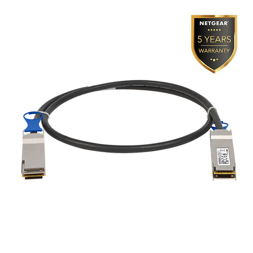 Netgear AXLC761 - 100G Direct Attach Cable QSFP+ to QSFP+ - fits QSFP28 interface  1 mtr (Warranty 5 Year)
