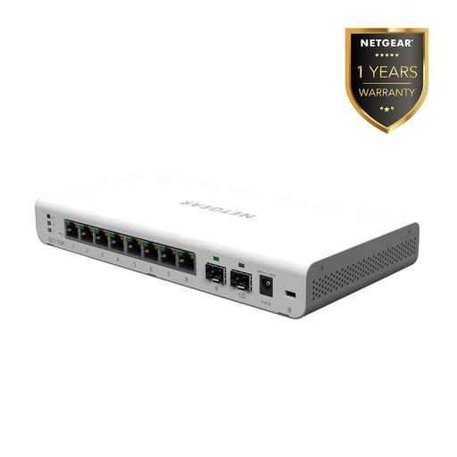 Netgear GC110P - Insight Managed 8 Port Gigabit PoE Cloud Desktop Switch (Warranty 1 Years)