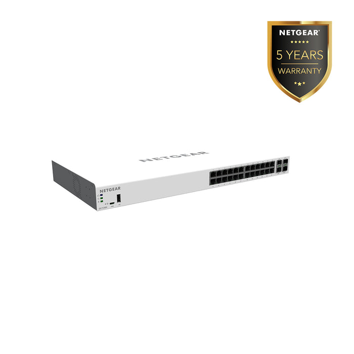 (Pre-Order) Netgear GC728X - Insight Managed 28 Port Gigabit Smart Cloud Switch (Warranty 5 Years)