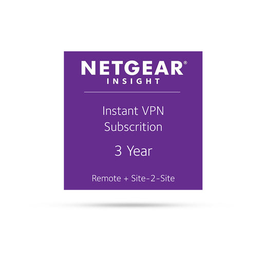 Netgear Insight Instant VPN subscription IVPN3 - 3 Years