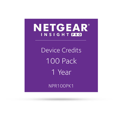 (Pre-Order) Netgear Insight Pro NPR100PK1 - 100 Pack 1 Year