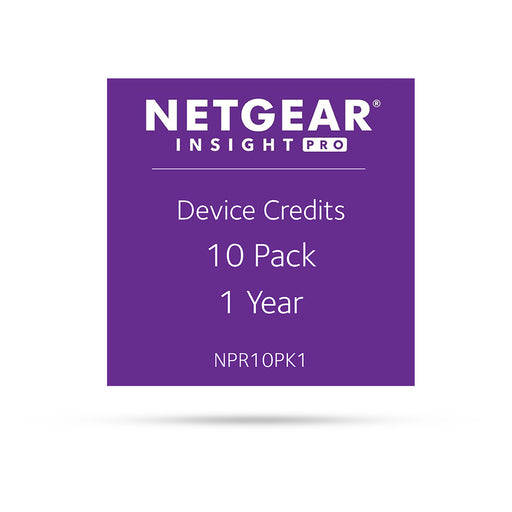 (Pre-Order) Netgear Insight Pro NPR10PK1 - 10 Pack 1 Year
