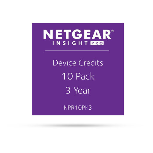 (Pre-Order) Netgear Insight Pro NPR10PK3 - 10 Pack 3 Years