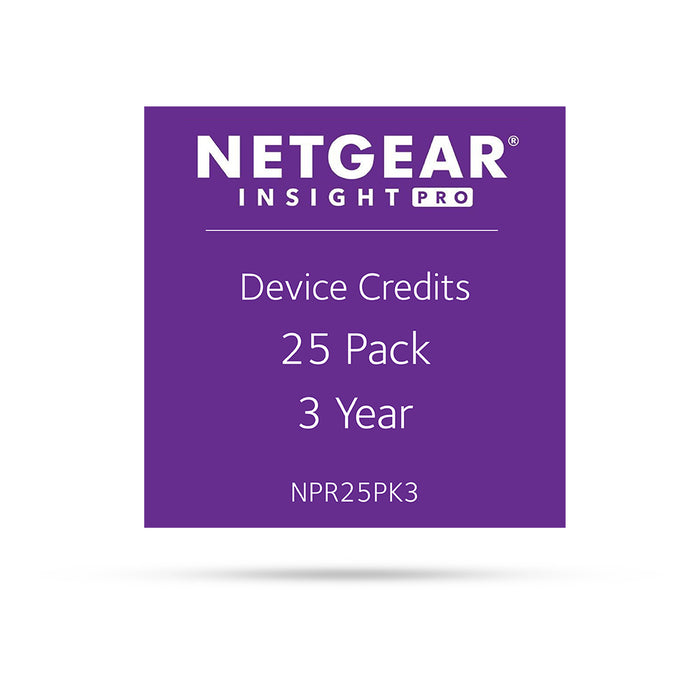 (Pre-Order) Netgear Insight Pro  NPR25PK3 - 25 Pack 3 Years