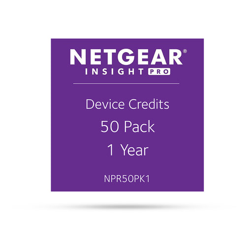 (Pre-Order) Netgear Insight Pro NPR50PK1 - 50 Pack 1 Year