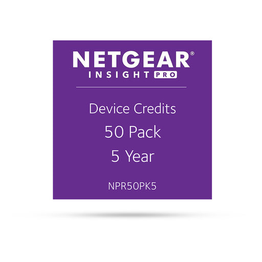(Pre-Order) Netgear Insight Pro NPR50PK5 - 50 Pack 5 Years