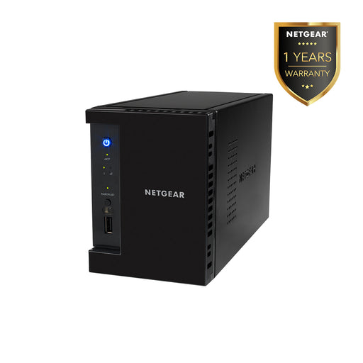 Netgear RN31200 - NAS Network Storage Desktop 2 Bay Server Backup (Warranty 1 Year) - Clearance