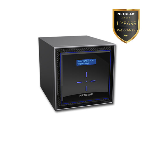 Netgear RN424 - NAS Network Storage Desktop 4 Bay (Warranty 5 Years)