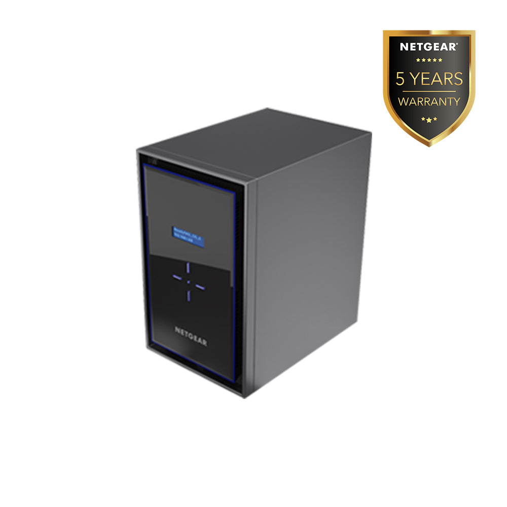 Netgear RN428 - NAS Network Storage Desktop 8 Bay (Warranty 5 Years)