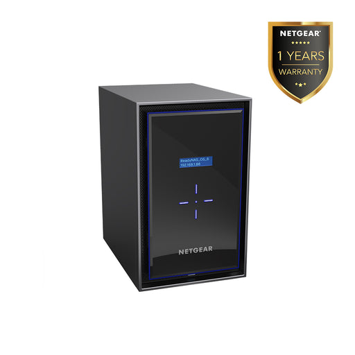 Netgear RN428 - NAS Network Storage Desktop 8 Bay (Warranty 1 Years)