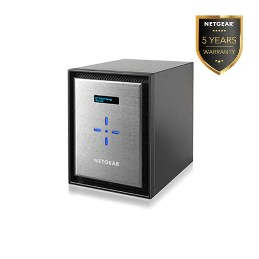 Netgear RN626X - NAS Network Storage Desktop 6 Bay (Warranty 5 Years)