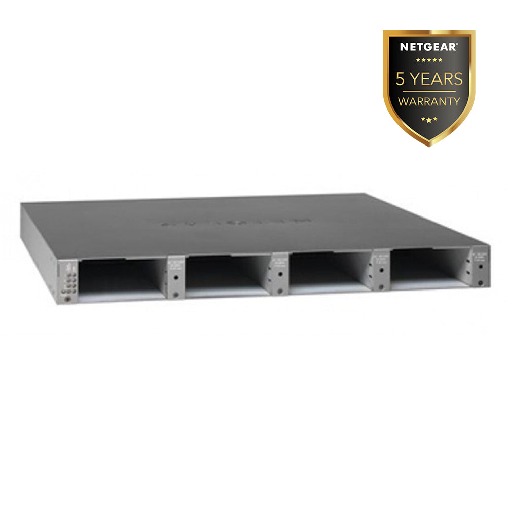 (Pre-Order) Netgear RPS4000 - External RPS Power Bank x4 switch 1U rackmount chassis (Warranty 5 Years)