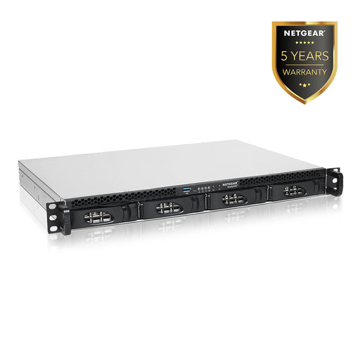 Netgear RR2304 - NAS Network Storage 1U Rackmount 4 Bay  (Warranty 5 Years)