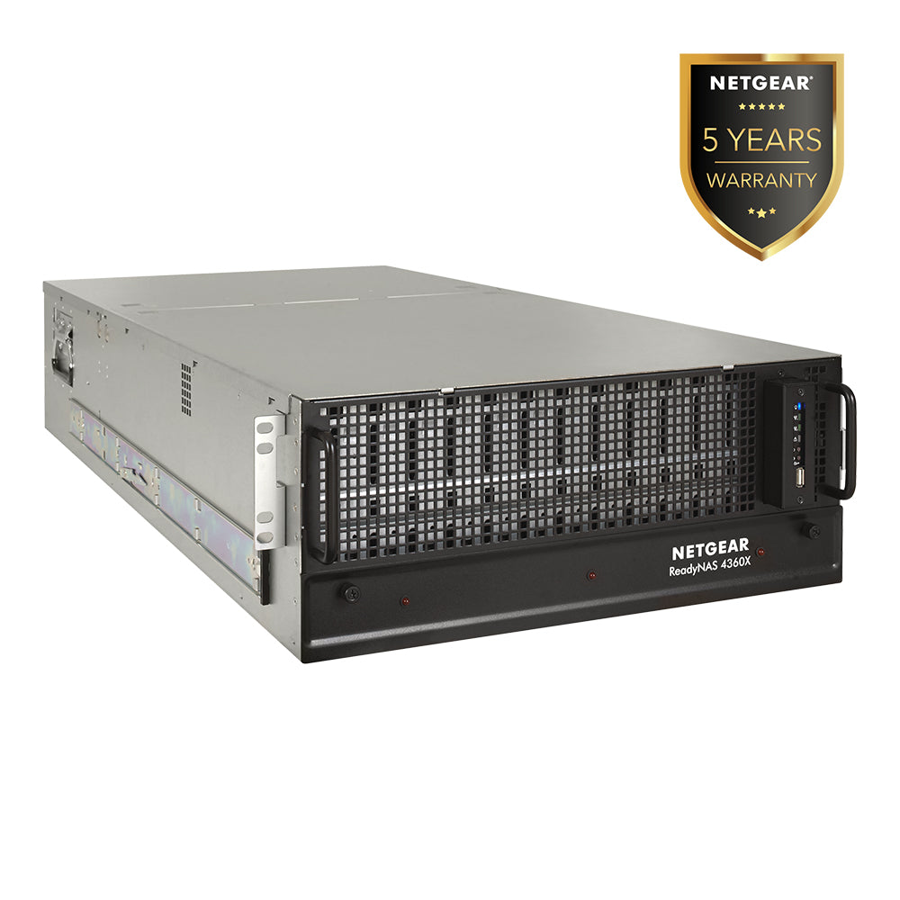 (Pre-Order) Netgear RR4360S - NAS Network Storage 4U Rackmount 60 Bay (Warranty 5 Years)