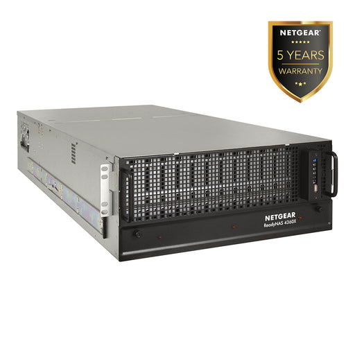 (Pre-Order) Netgear RR4360X - NAS Network Storage 4U Rackmount 60 Bay (Warranty 5 Years)