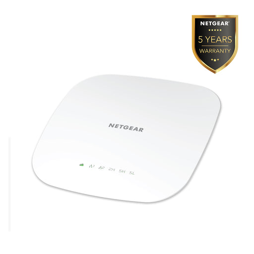 Netgear WAC540 - Insight Managed Smart Cloud Tri-Band 4x4 Wireless Access Point AC3000 (Warranty 5 Years)