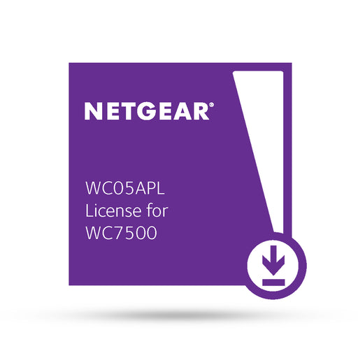 (Pre-Order) Netgear WC05APL - 5 AP License for WC7500 Only